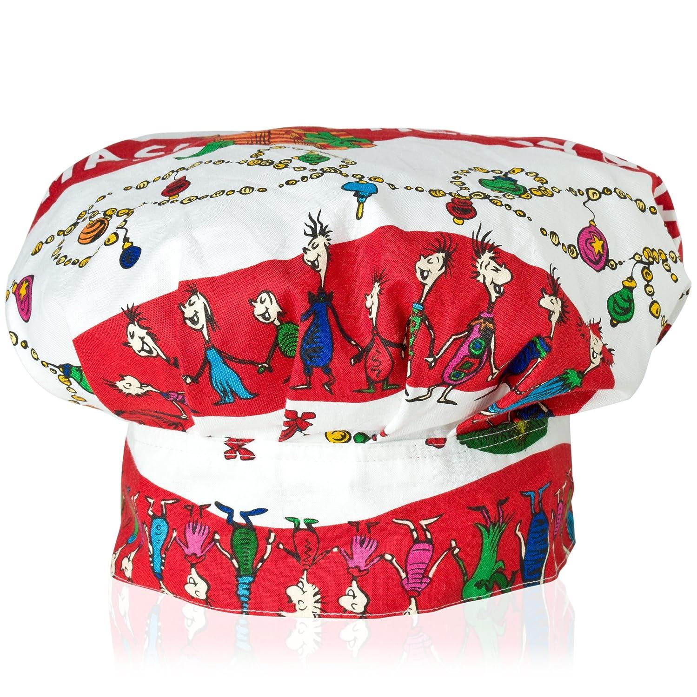 Dr. Seuss Merry Grinchmas Kid Chef's Hat ASD Living 56-171