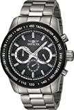 Invicta Men's 'Speedway' Quartz Stainless Steel Casual Watch, Color:Silver-Toned (Model: 21796)
