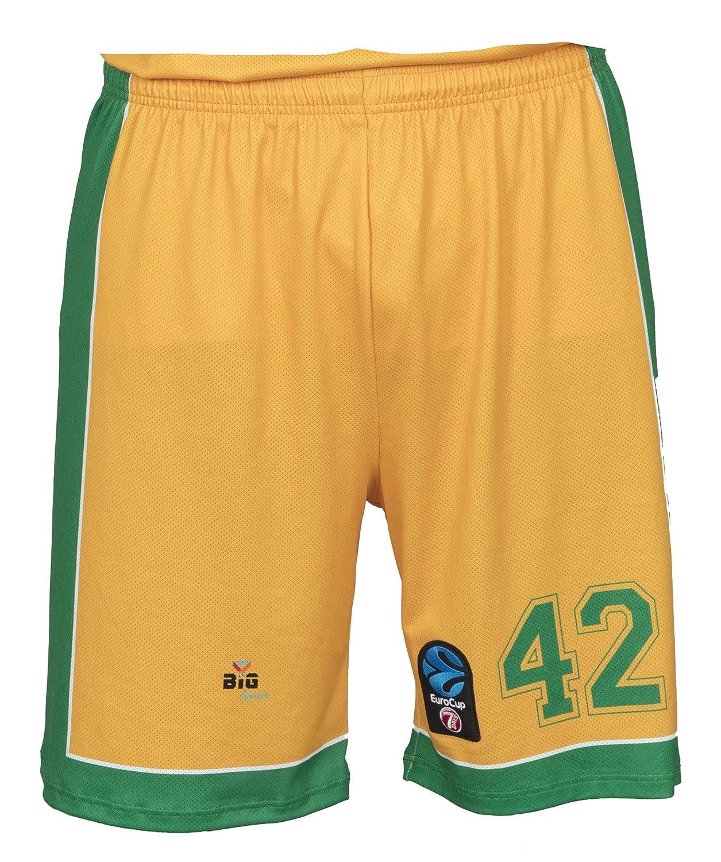 Bigsport Replica Howard Eurocup Limoges CSP hogar–Pantalones Cortos de Baloncesto para Hombre BGSPT|#Bigsport CSPWH2017-3
