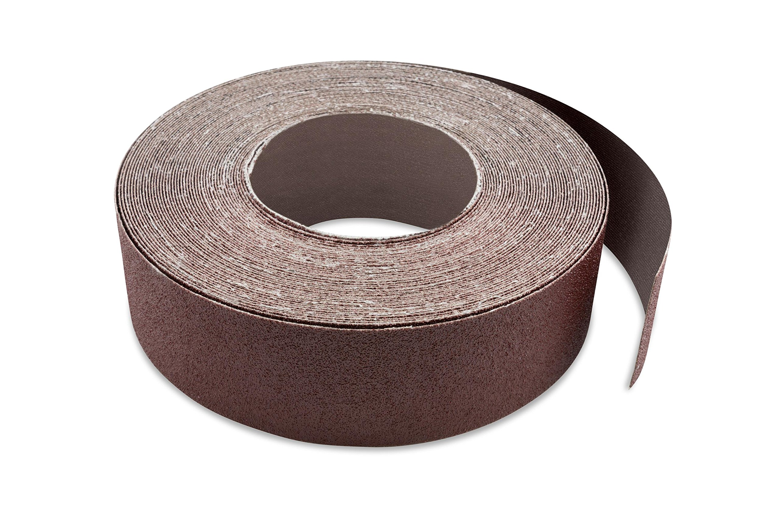 3 Inch X 70 FT 80 Grit Woodworking Drum Sander Strip Roll, Cut to Length