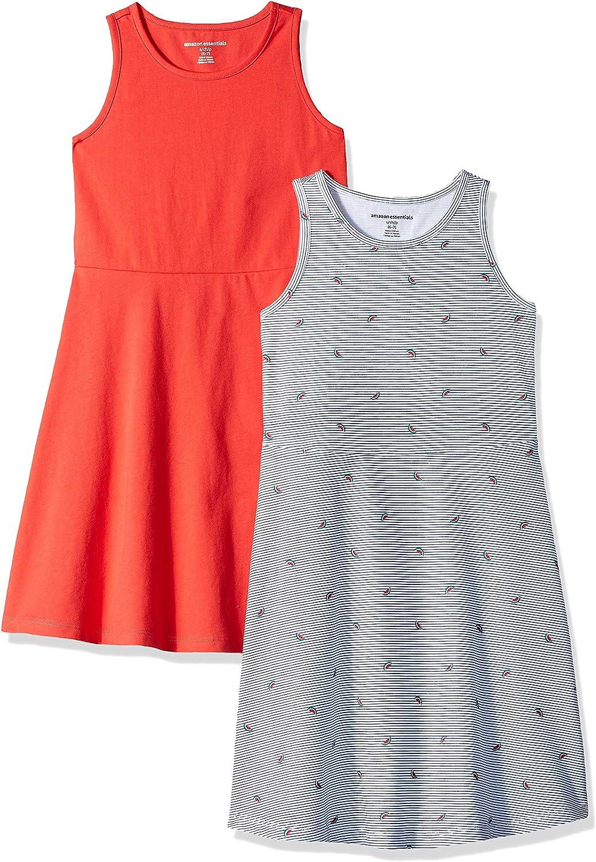 Vestito smanicato da bambina confezione da 2 Essentials