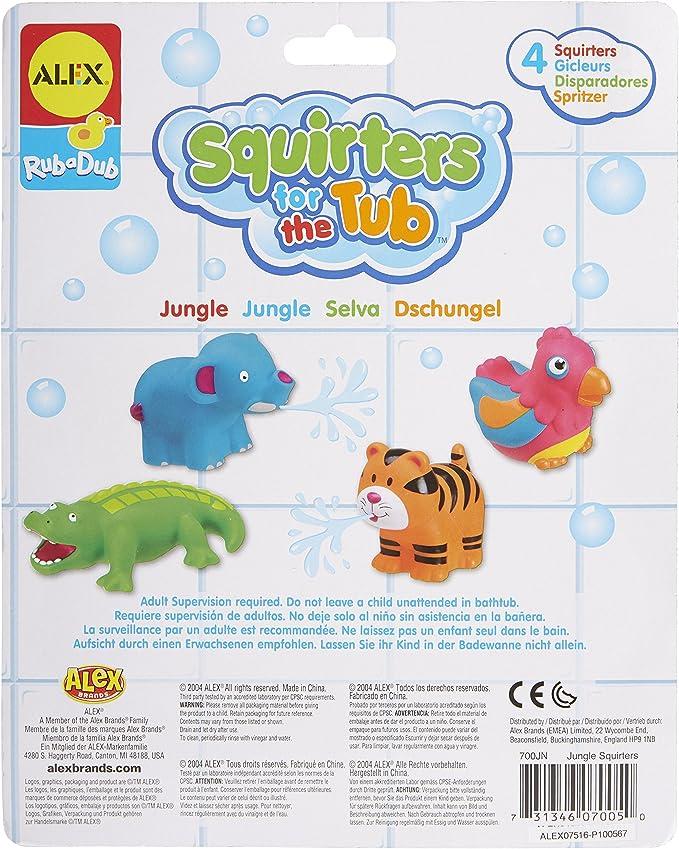 Alex RUB A DUB BATH SQUIRTERS Dino//Farm//Sport//Vehicles Baby//Child Tub Toy
