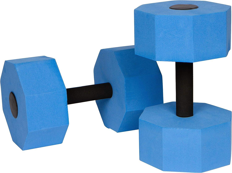 Trademark Innovations Aquatic Exercise Dumbells for Water Aerobics Set of 2