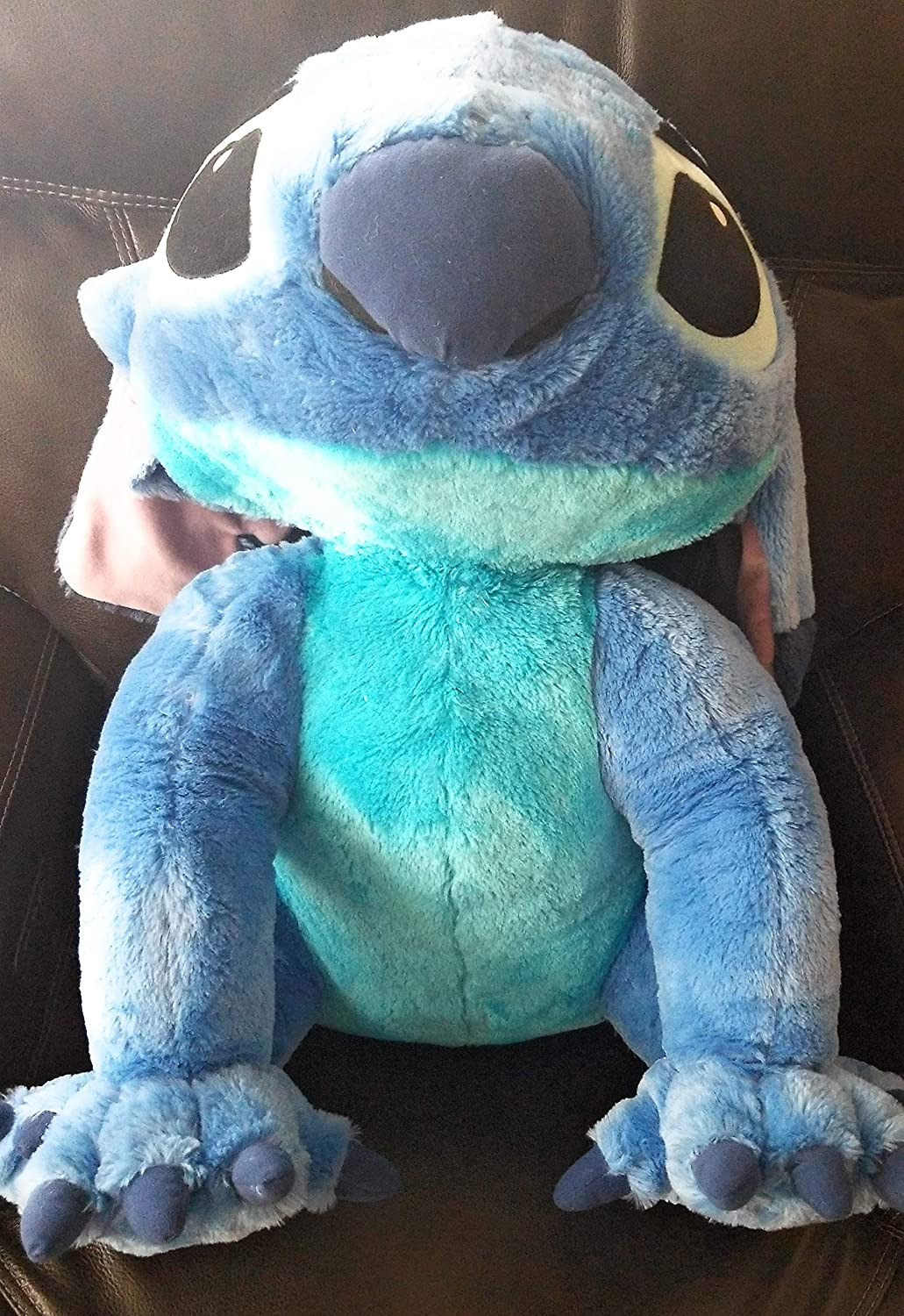 Flounder Stuffed Animal, Amazon Com Disney Store Lilo Stitch Jumbo Size Stitch Plush Approx 24 Toys Games