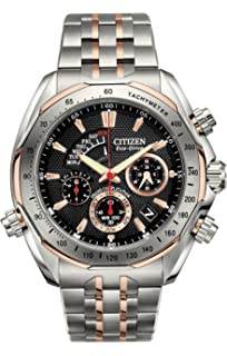 Citizen Mens BZ0016-50E The Signature Collection Eco-Drive Grand Complication Watch