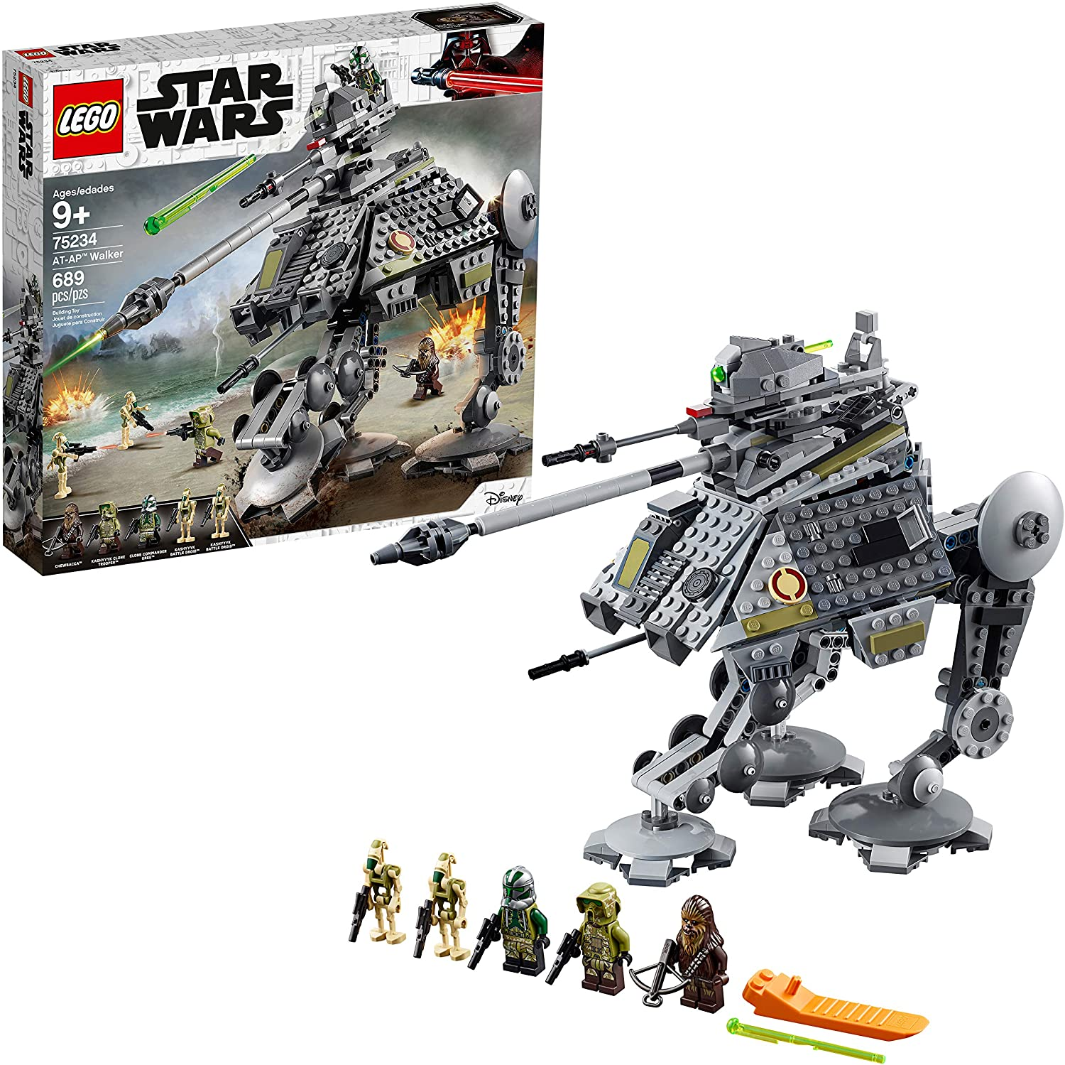 Amazon Com Lego Star Wars Revenge Of The Sith At Ap Walker 75234 Building Kit 689 Pieces Toys Games