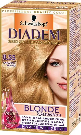 Diadem 8 55 Karamell Blond Blonde Sensation 3er Pack 3 X 142 Ml