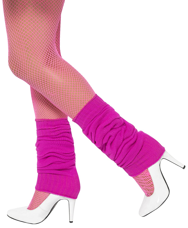 Smiffys Unisex-Adult Leg Warmers Green