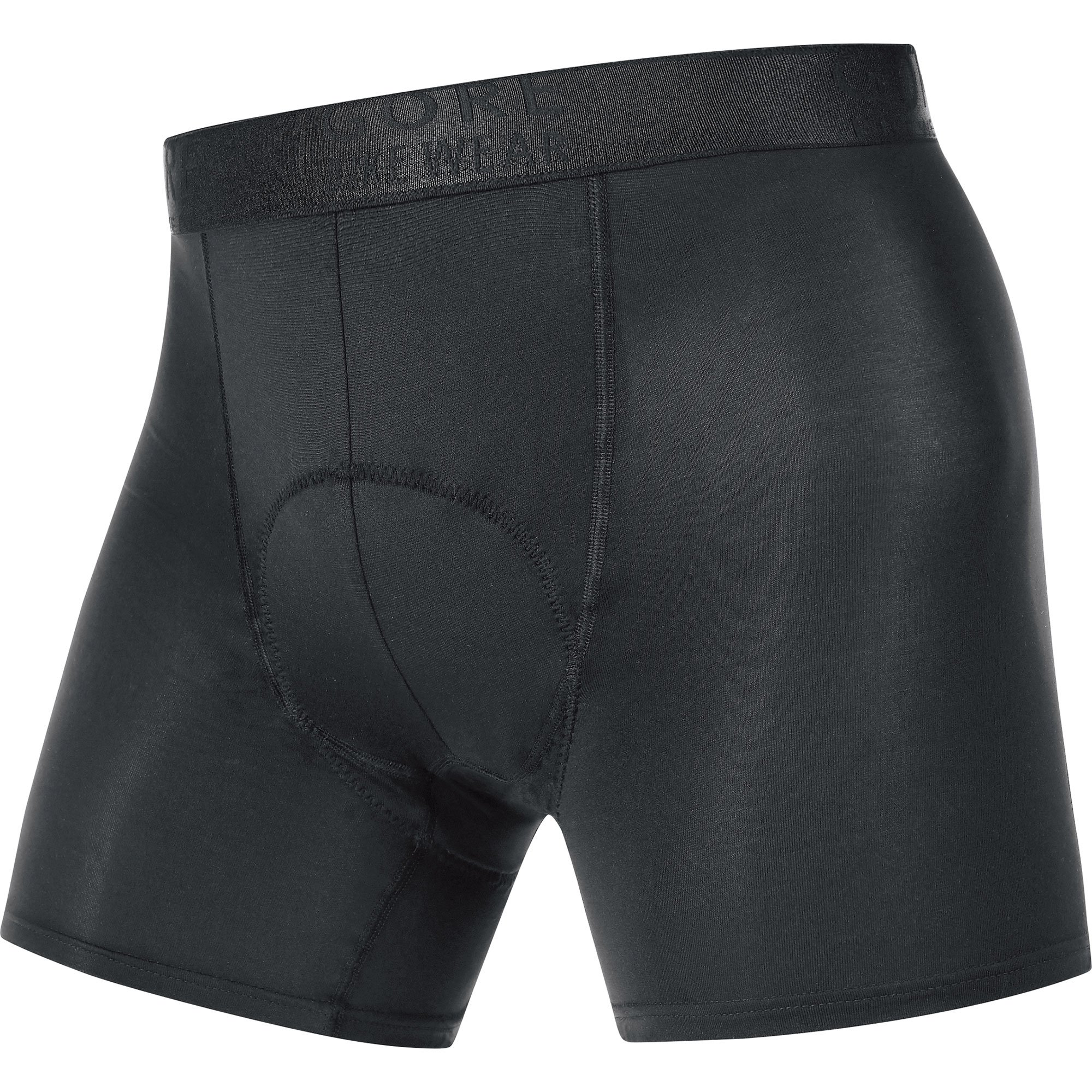 Gore Bike WEAR Men's Base Layer Boxer Shorts+, Black, Small by GORE WEAR