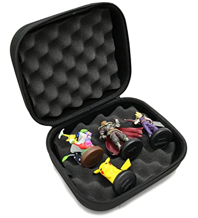 CASEMATIX Protective Amiibo Collector Case Fits Six Amiibo Figures Such as Smash Bros , Legend of