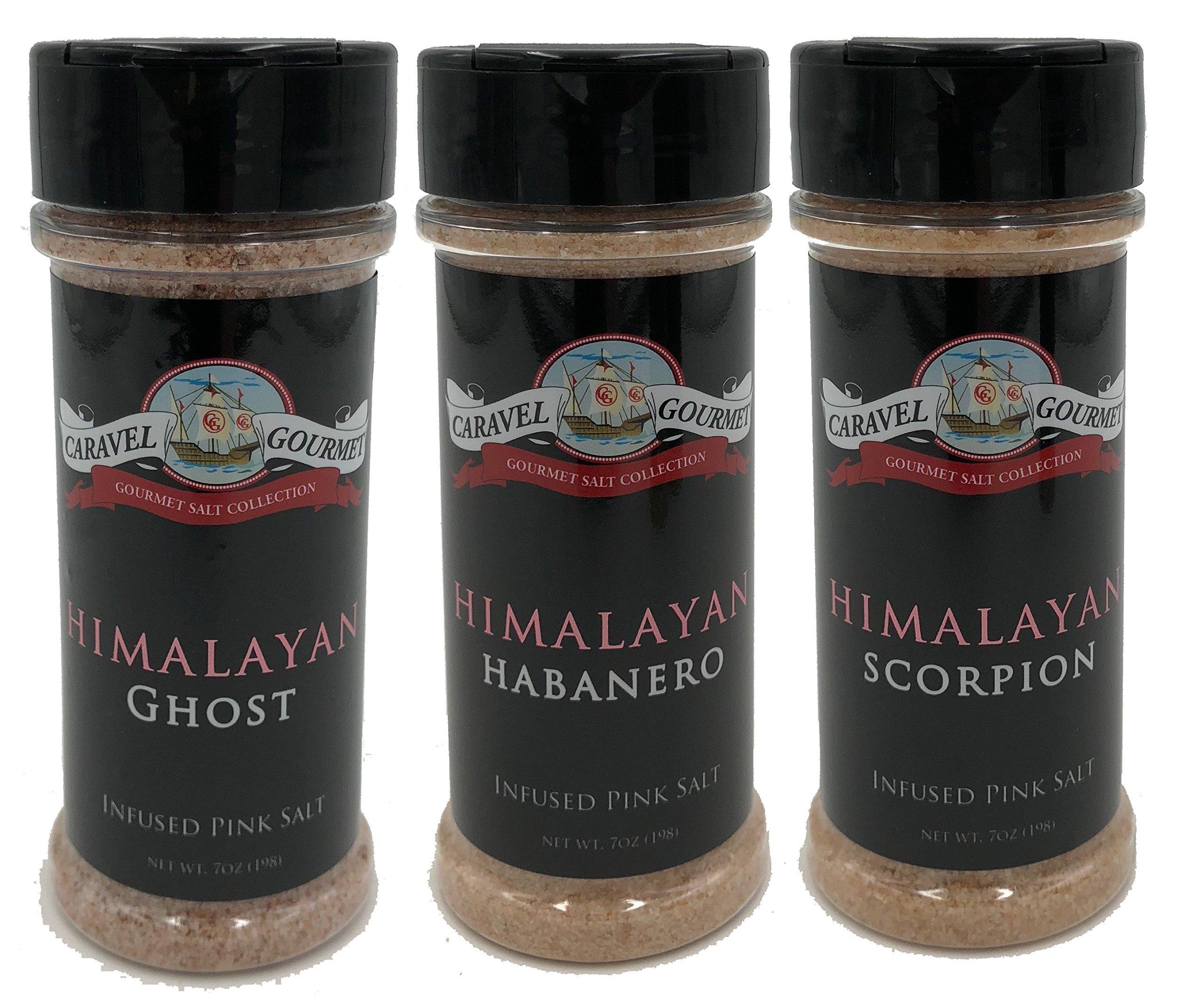 Himalayan Ghost, Habanero & Scorpion Pepper - 3 Pack