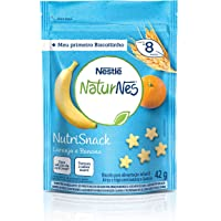Naturnes, Nutrisnack, Banana e Laranja, 42g