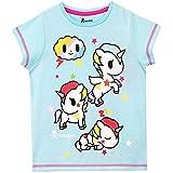 Tokidoki Girls' Unicorn Pajamas Size 6 Blue