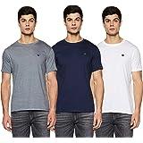 Amazon Brand - Symbol Men's Cotton Round Neck T-Shirt (Pack of 3)