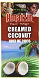 Amaizin Organic Creamed Coconut 200 g (Pack of 12)