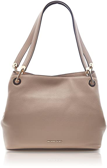4a1bc4e7c23c Amazon.com  Michael Kors Women s Raven Tote Bag Beige Beige (Oyster)  Shoes