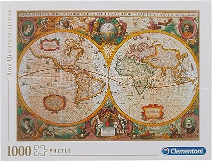 Cartina Geografica Antica.Clementoni Mappa Antica Puzzle 1000 Pezzi Multicolore 31229 Amazon It Giochi E Giocattoli