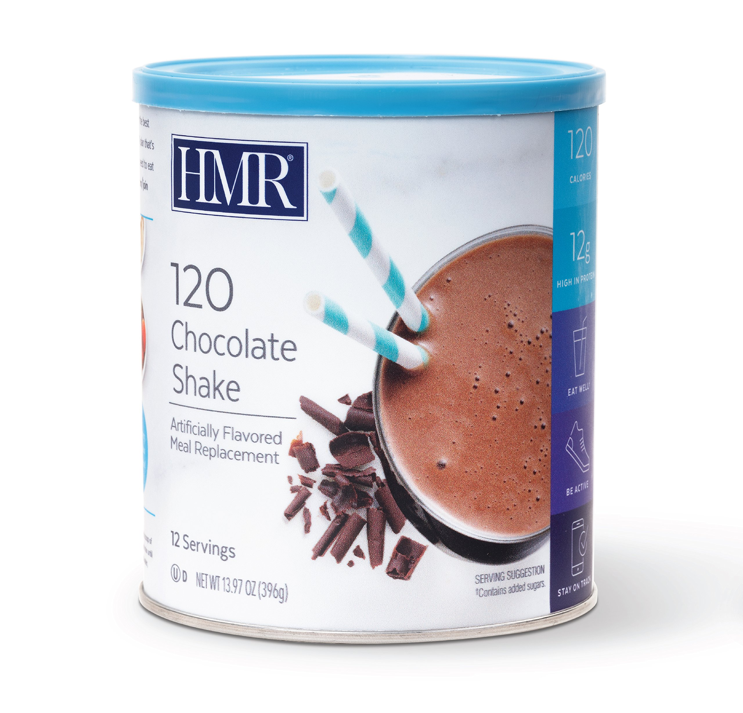 HMR 120 Chocolate Shake, Canister of 12 servings   by HMR