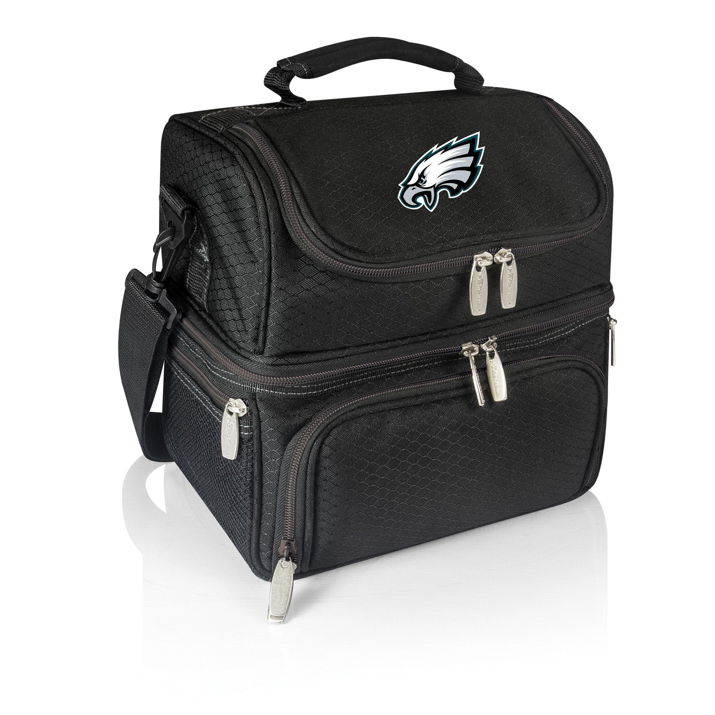 PICNIC TIME NFL Philadelphia Eagles Digital Print Pranzo Personal Cooler, One Size, Black