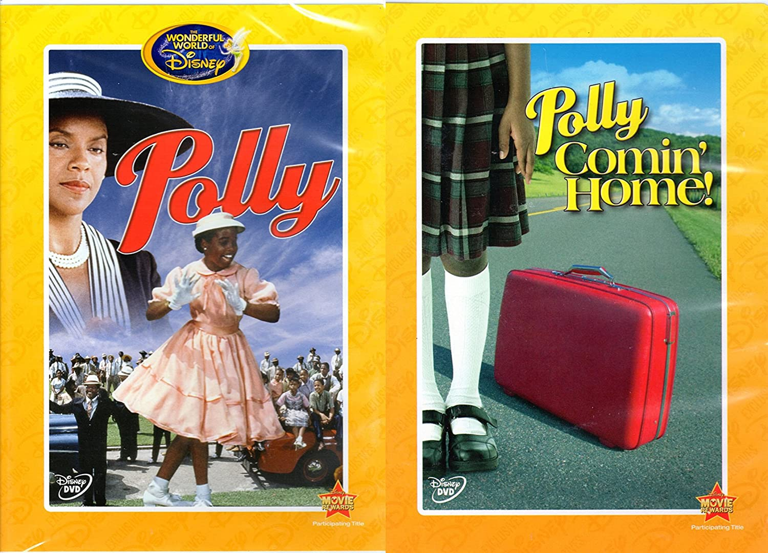 Disney Exclusive Classics: Polly & Polly Comin' Home 2-DVD Bundle from the Wonderful World of Disney