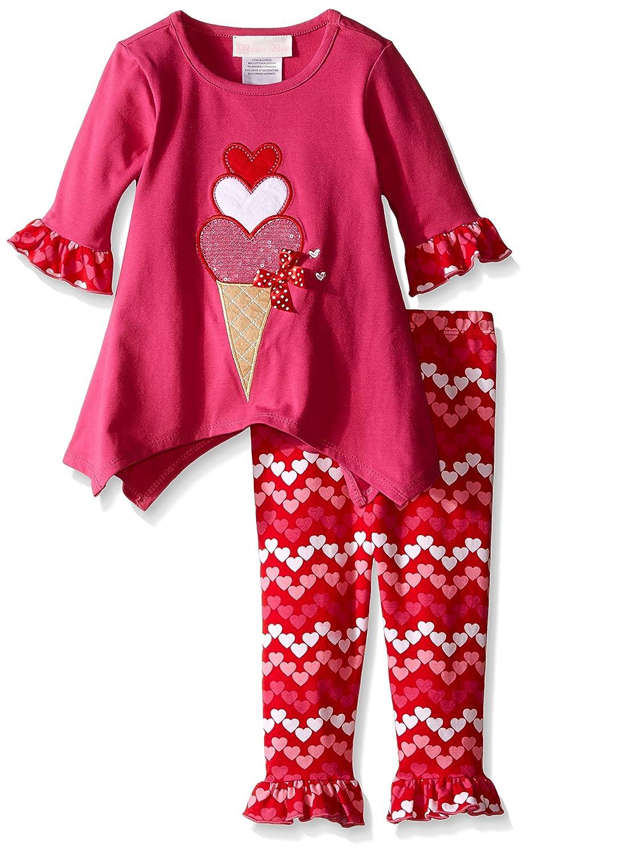 驚きの値段で Bonnie S Babyベビー女の子アイスクリームAppliqued B019ED8FJQ Playwearセット Bonnie S フクシャ B019ED8FJQ, 阿波町:4fd9eec3 --- a0267596.xsph.ru
