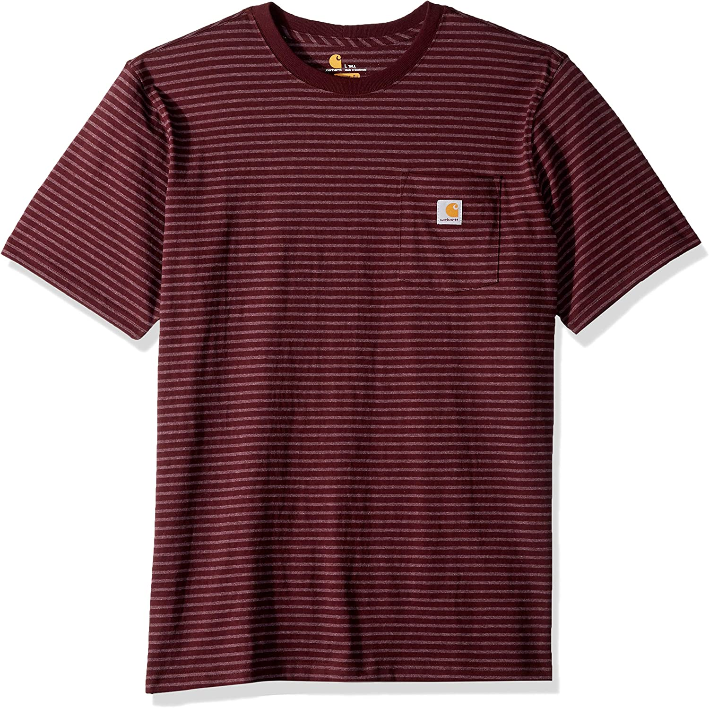 Carhartt Mens K87 Workwear Pocket Short Sleeve T-Shirt Regular and Big /& Tall Sizes