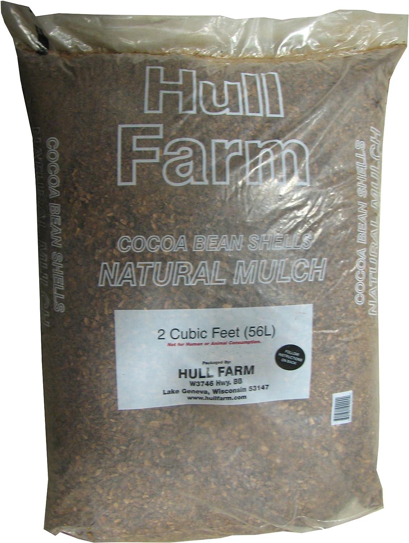 Hull Farm 50150 Cocoa Bean Shell Mulch, 2 Cubic Feet