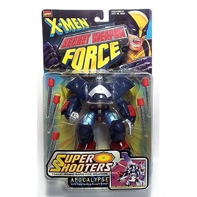 X-Men Super Shooters Apocalypse Action Figure: Toys & Games