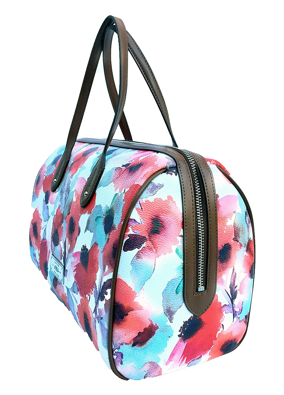 d9625ff8d8 Lauren Ralph Lauren Clements Barrel Floral Satchel Handbag