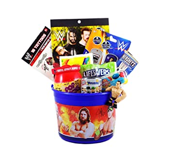 Amazon wwe wrestling easter candy and toy gift basket wwe wrestling easter candy and toy gift basket negle Image collections