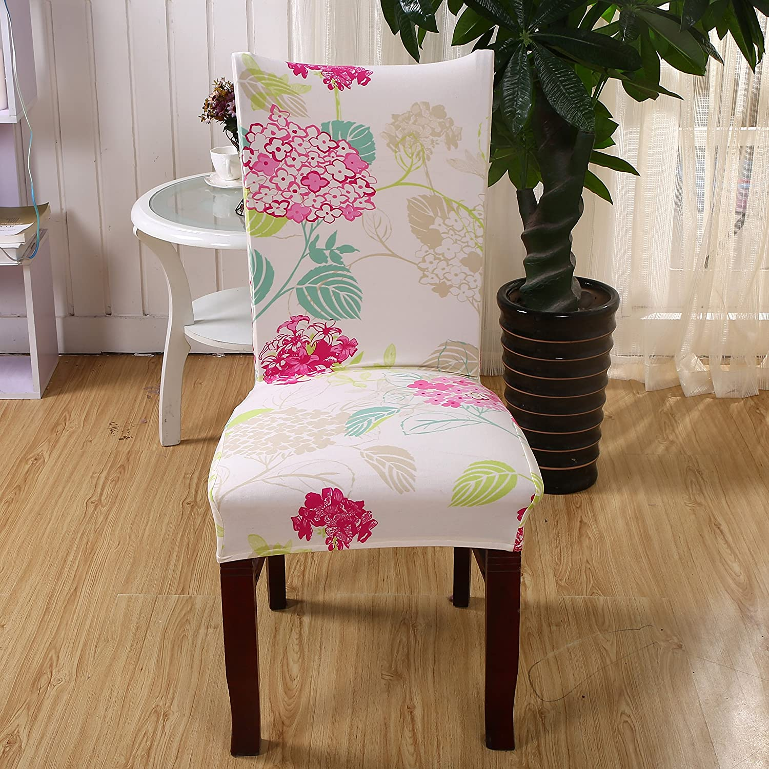 Missoni Fabric Covered Bergere Chair: Yiwant Super Fit Stretch Removable Washable Short Dining