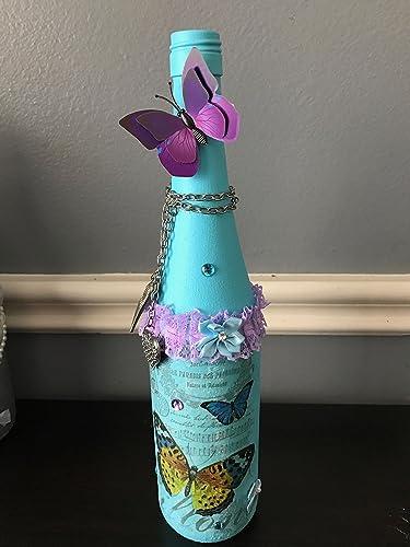 How To Decorate Wine Bottles New Amazon Wine Bottles Glass Bottles Decorated Bottles