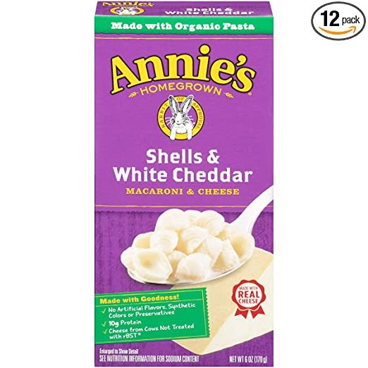 Annie's White Cheddar Macaroni...