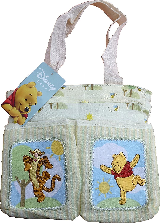 Disney Baby Winnie The Pooh Diaper Bag - 10 x 8 x 5 inch - Infant Travel Accessories - Item #109017 Elegant Kids