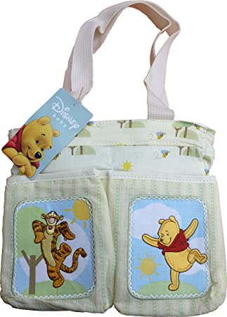 a8c7bdb7b880 Disney Baby Winnie The Pooh Diaper Bag - 10 x 8 x 5 inch - Infant Travel  Accessories - Item  109017  Amazon.ca  Baby