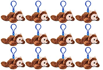 Amazon Com Wildlife Tree 12 Pack Hedgehog Stuffed Animal Backpack
