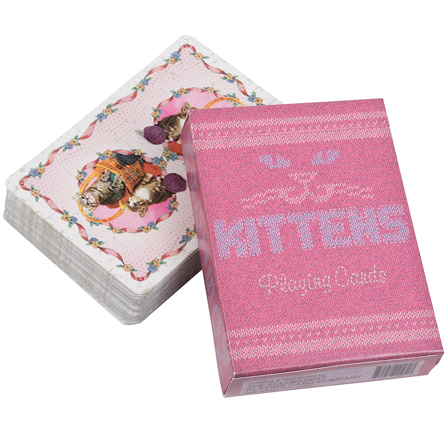 Amazon.com: Kittens Playing Cards Deck by Ellusionist - Designed by ...
