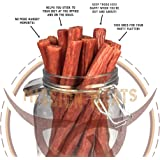 Keto Sugar Free Range Turkey Jerky Sticks Gluten MSG Nitrate & Nitrite Free Paleo Snacks Healthy Natural Meat Sticks