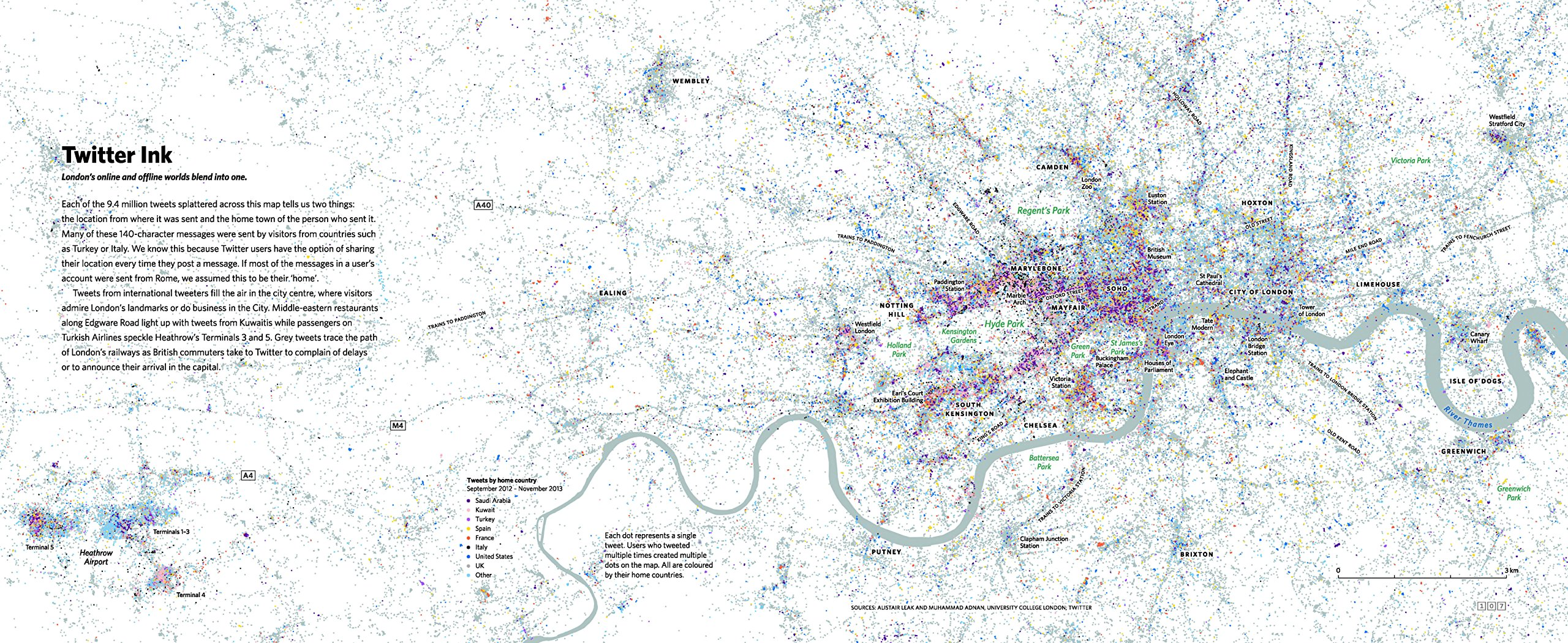 London The Information Capital Maps And Graphics That Will - Amazon us map