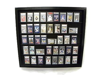 Graded Baseball Card Displays Case Will Hold 50 Graded Baseball Cards 50psablack