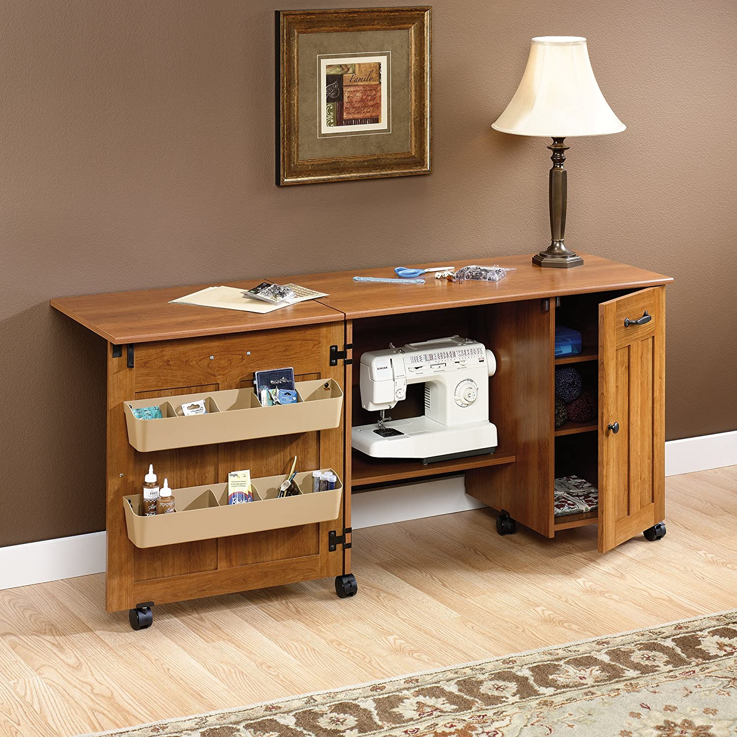 - Amazon.com: Sewing / Craft Center - Folding Table: Kitchen & Dining