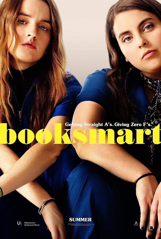 """Booksmart"" movie poster"
