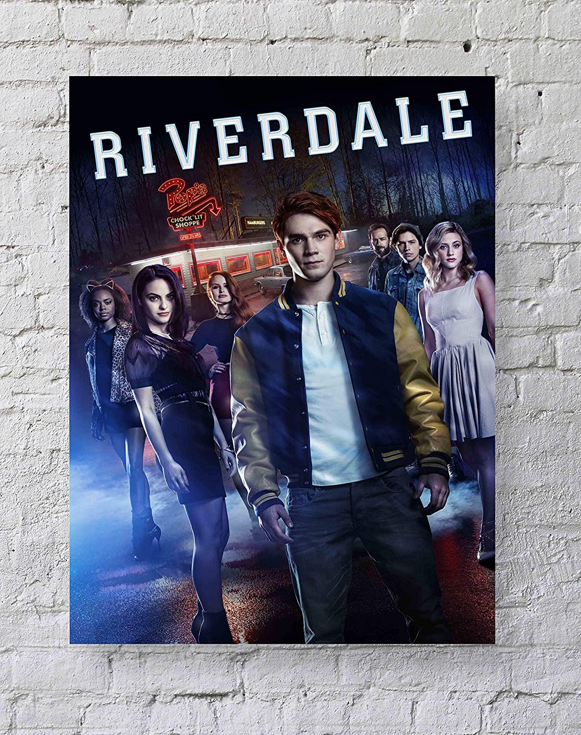 MeiMeiZ Riverdale Poster Standard Size | 18-Inches by 24-Inches | Riverdale Posters Wall Poster Print