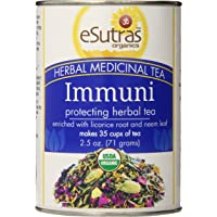 eSutras Organics Herbal Medicinal Tea, ImmuniTea, 2.5 Ounce