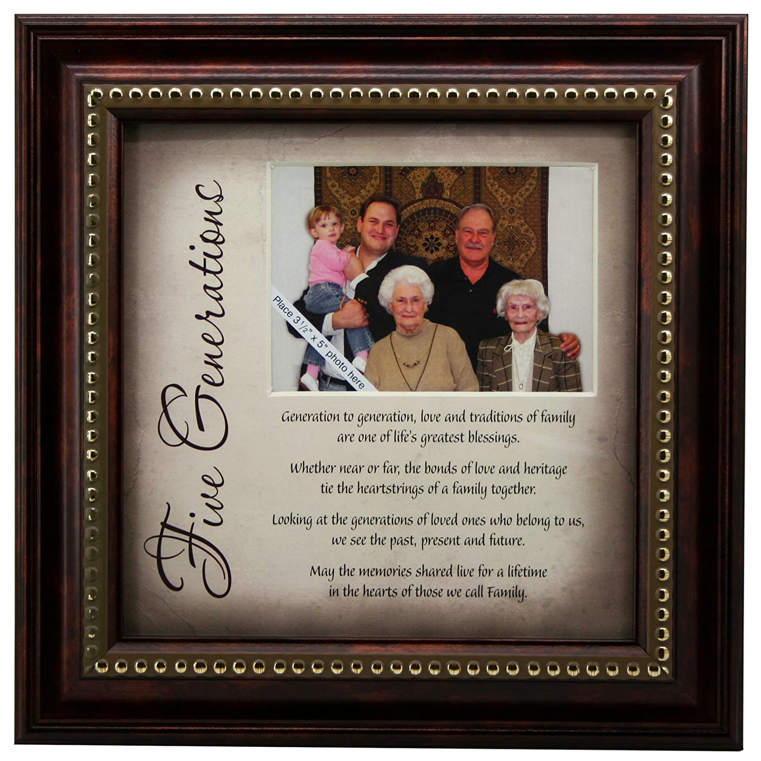 Amazon 5 generations frame and poem gift for great amazon 5 generations frame and poem gift for great grandparents single frames jeuxipadfo Gallery
