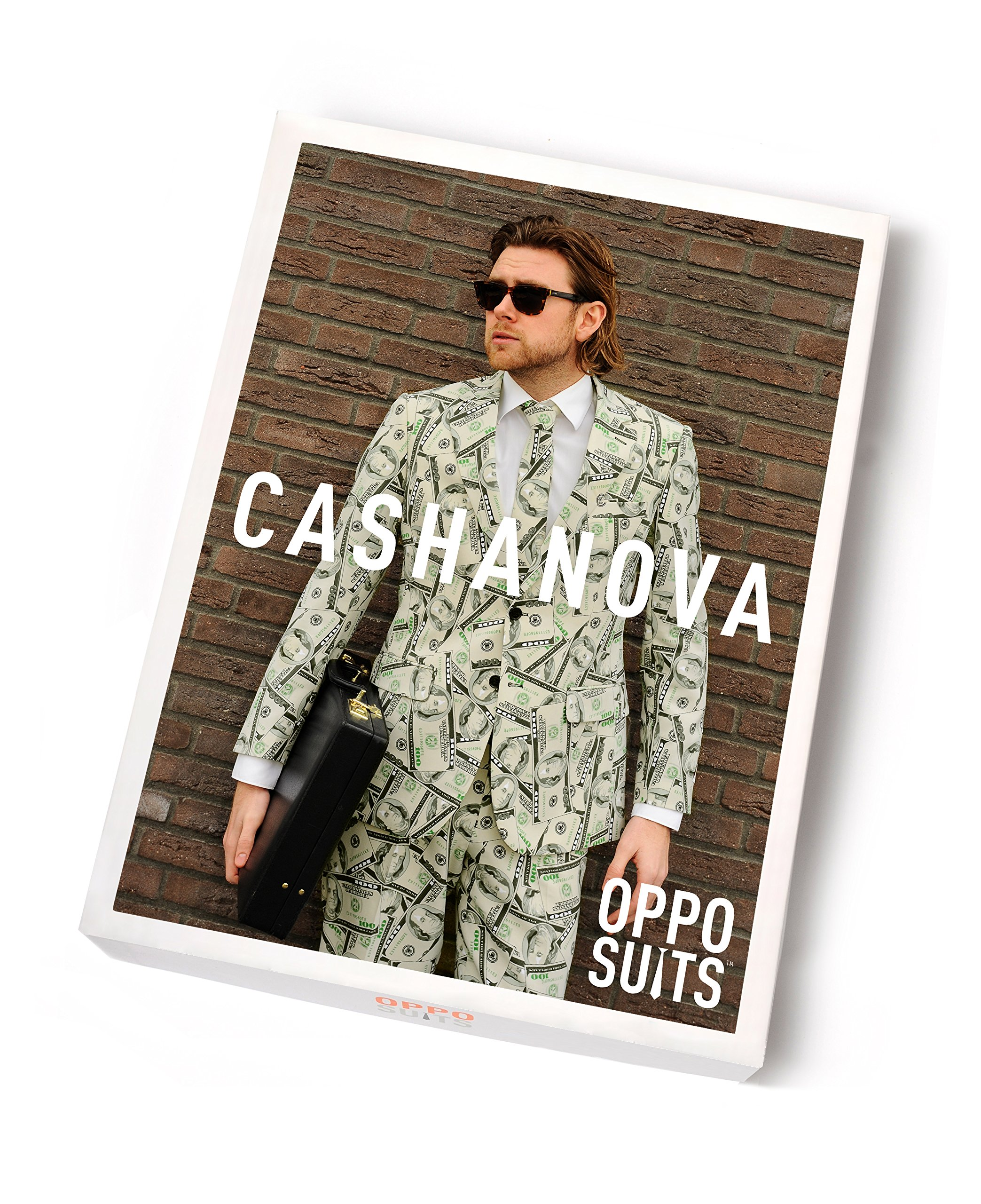 OppoSuits Men's Cashanova Party Costume Suit, Multi, 40 by Opposuits (Image #5)