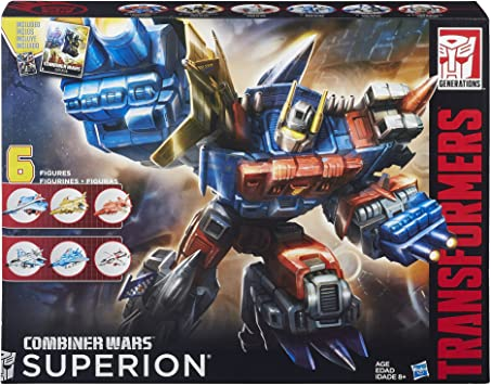 SUPERION AERIALBOT Transformers Generations Combiner Wars Christmas Gift