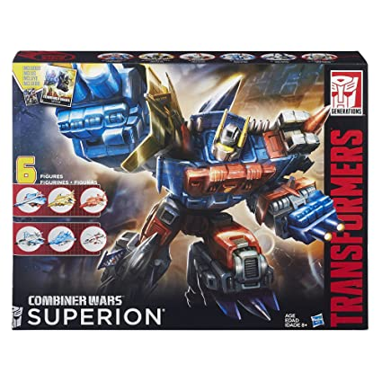 Amazon Com Transformers Generations Combiner Wars Superion