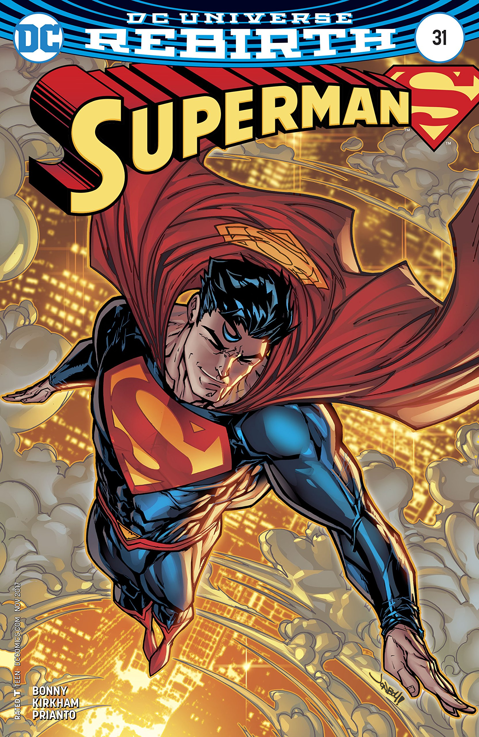 Download Superman (Issue #31 -Variant Cover by Jonboy Meyers) Text fb2 ebook