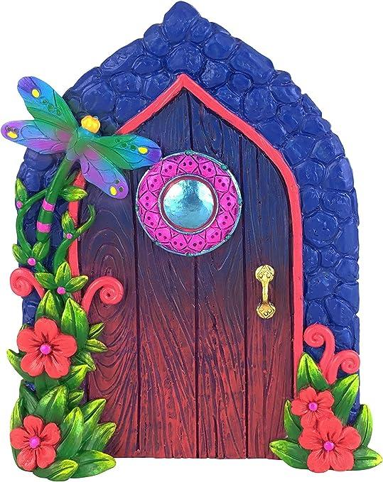 GlitZGlam Puerta de Libélula en Miniatura para Jardín Encantado de Hadas y Gnomos en Miniatura. Accesorios para Jardín de Hadas y Gnomos: Amazon.es: Hogar